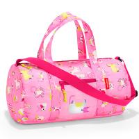 Многофункционална детска пътна или спортна чанта Reisenthel mini maxi dufflebag S, abc friends pink