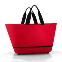Стилна червена голяма дамска чанта за пазар Reisenthel Shoppingbasket