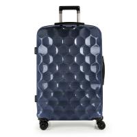 Стилен син голям куфар Gabol Air, 85л
