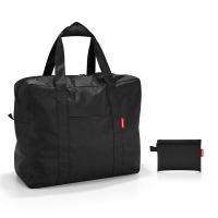 Портативна сгъваема черна пътна чанта Reisenthel Mini maxi touringbag, black