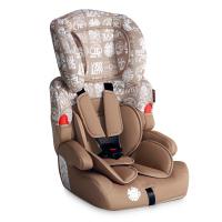 Бежово детско столче и седалка за кола Lorelli Kiddy, 9-36кг.