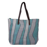 Дамска плажна чанта син цвят HatYou