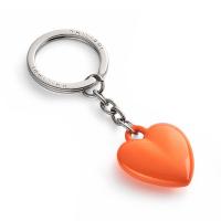 Стилен ключодържател сърце Philippi Coeur в оранжев цвят