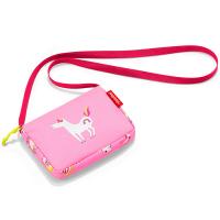 Малка детска розова чантичка за през рамо Reisenthel Itbag, abc friends pink, момиче