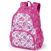 Детска ученическа раница за момиче Gabol Magic в розов цвят