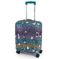 Разтегателен калъф за куфар среден размер Gabol, размер M