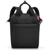 Черна раница и пътна чанта Reisenthel Allrounder R Large Spots Black