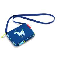 Синя детска малка чанта за през рамо за момче Reisenthel Itbag, abc friends blue