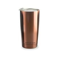 Практична двустенна термо чаша Asobu Gladiator с вакуумна изолация 600мл, в цвят мед