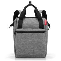 Раница подходяща при пътуване с ръчен багаж Reisenthel Allrounder R, сива