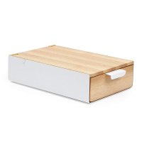 Стилна кутия за бижута Umbra Reflexion от дърво и метал