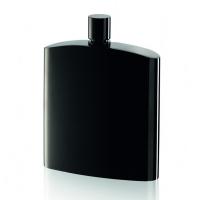 Черна изискана бутилка за алкохол Philippi Henrys 200мл