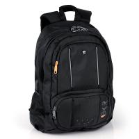 Черна изискана раница Gabol Biker с джоб за лаптоп