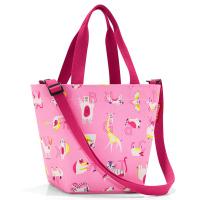 Удобна малка детска чанта в розов цвят Reisenthel Shopper XS Kids Abc Friends, Pink