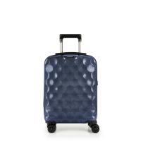Стилен малък син куфар за ръчен багаж на четири колела Gabol Air