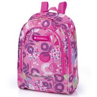 Малка ученическа раница за момиче Gabol Linda в розов цвят