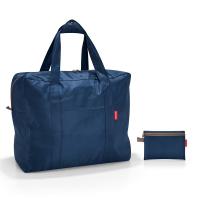 Портативна сгъваема тъмносиня пътна чанта Reisenthel Mini maxi touringbag, dark blue
