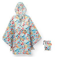 Преносим дамски дъждобран пончо на цветя Reisenthel Mini maxi poncho millefleurs