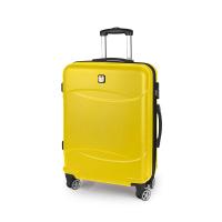Свеж жълт куфар за ръчен багаж Gabol Orleans 55см