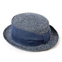 Синя дамска лятна шапка за плажа или ежедневието HatYou