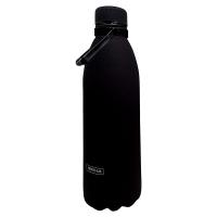 Голям черен термос от неръждаема стомана Vin Bouquet Nerthus 1.5л
