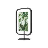 Черна дизайнерска рамка за снимка Umbra Infinity Sqround