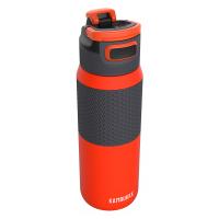 Свежа голяма оранжева бутилка за вода Kambukka Elton Insulated, 750мл