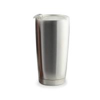 Практична двустенна термо чаша Asobu Gladiator с вакуумна изолация 600мл, в сребрист цвят