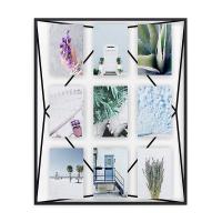 Стилна рамка за 9 броя снимки Umbra Prisma Gallery, черна