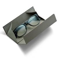 Удобен сгъваем калъф за очила Philippi Alegro в сив цвят