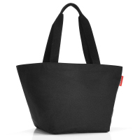 Практична дамска чанта за пазар в черен цвят Reisenthel Shopper М, black