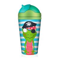 Детска бамбукова чаша Chic-Mic Quaky, пиратско съкровище