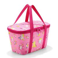Малка хладилна чанта Reisenthel Coolerbag XS в розов цвят