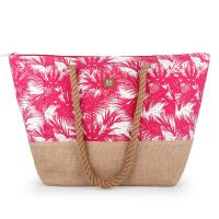 Дамска розова чанта за плаж Gabol Tahiti