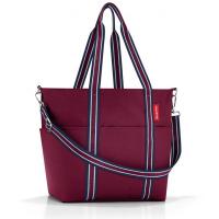 Голяма чанта за бебешки принадлежности Reisenthel Baby Organizer в тъмночервен цвят