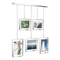 Фотодисплей рамки за снимки за стена UMBRA Exhibit, хром