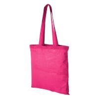 Памучна чанта за пазар Carolina, цикламена