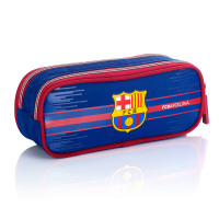 Несесер с две отделения FC Barcelona Barca Fan 7 в синьо и червено, FC-227