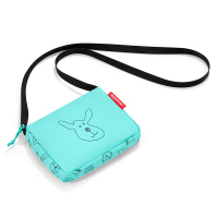 Детска малка чантичка за през рамо за момче Reisenthel Itbag, cats and dogs mint