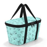 Малка хладилна чанта Reisenthel Coolerbag XS в цвят мента