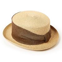 Стилна дамска лятна шапка за плажа или ежедневието HatYou, натурален цвят
