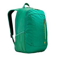 Зелена удобна раница за лаптоп Case Logic Jaunt 15.6