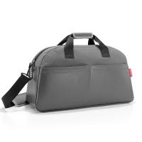Голяма сива луксозна черна пътна чанта Reisenthel Overnighter
