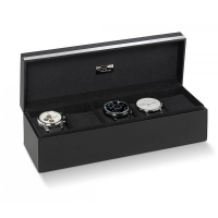 Елегантна кутия за часовници Philippi Giorgio в черен цвят