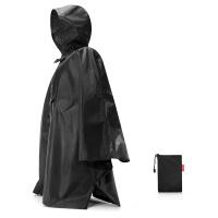Джобен дъждобран пончо в черен цвят Reisenthel Mini maxi poncho