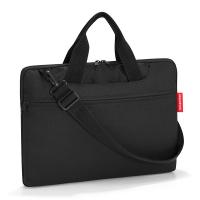 Удобна черна чанта за лаптоп 15.6