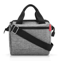 Модерна сива чанта за през рамо Reisenthel Allrounder Cross, twist silver