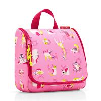 Тоалетна чанта за принадлежности Reisenthel Toiletbag Abc Friends, в розов цвят