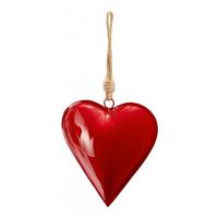 Сувенир сърце за любим човек в тъмно червено Phillipi
