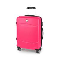 Удобен малък куфар за ръчен багаж в цвят корал Gabol Orleans 55см